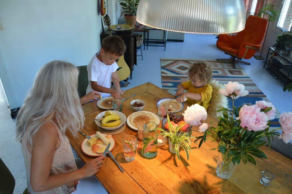 Kinderen aan tafel